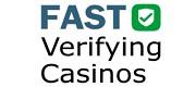 fast verifying casinos UK online gamblers