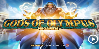 Gods of Olympus Megaways Slot logo