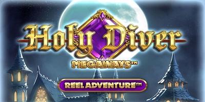 Holy Diver Slot logo