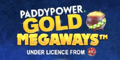 PaddyPower Gold Megaways Slot logo