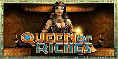 Queen of Riches Slot logo