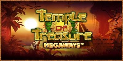 Temple of Treasure Megaways Slot logo