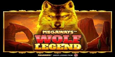 Wolf Legend Megaways Slot logo