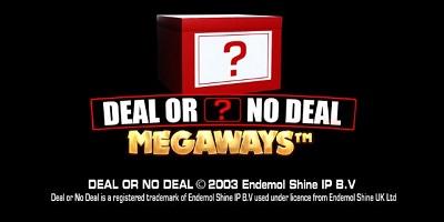 Deal or no Deal Megaways slot logo