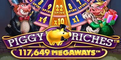 Piggy Riches Megaways Slot logo