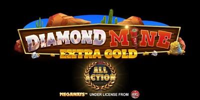 Diamond Mine Extra Gold All Action logo