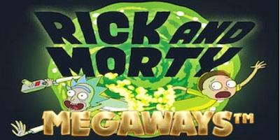 Rick and Morty Megaways logo