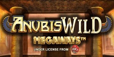 Anubis Wild Megaways slot logo