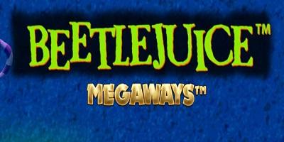 Beetlejuice Megaways Slot logo