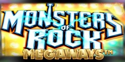 Monsters of Rock Megaways logo