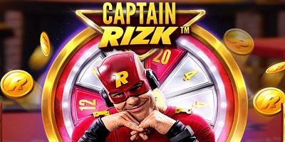 Captain Rizk Megaways Slot logo