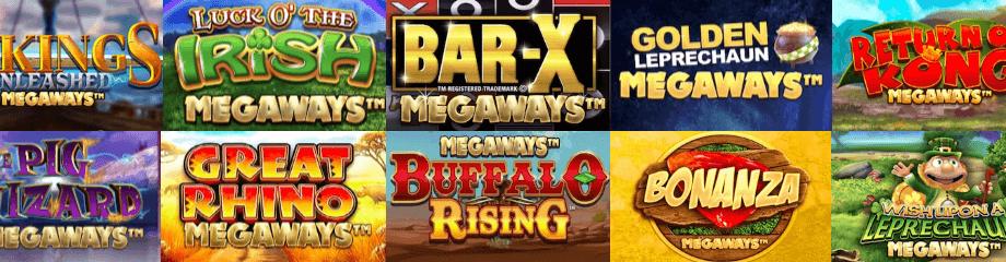 megaways slot logos banner