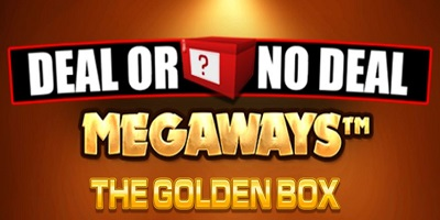 Deal or no Deal Megaways The Golden Box logo