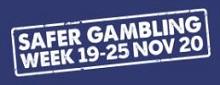 Safer gambling week November 2020